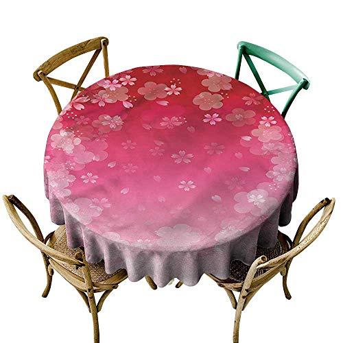 Cherry Bavarian Finish - familytaste Asian,Tablecloths for Restaurant Cherry Plum Romantic Floral D 60