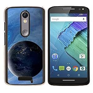 Be-Star Único Patrón Plástico Duro Fundas Cover Cubre Hard Case Cover Para Motorola Droid Turbo 2 / Moto X Force ( Galassia Stelle 4 )