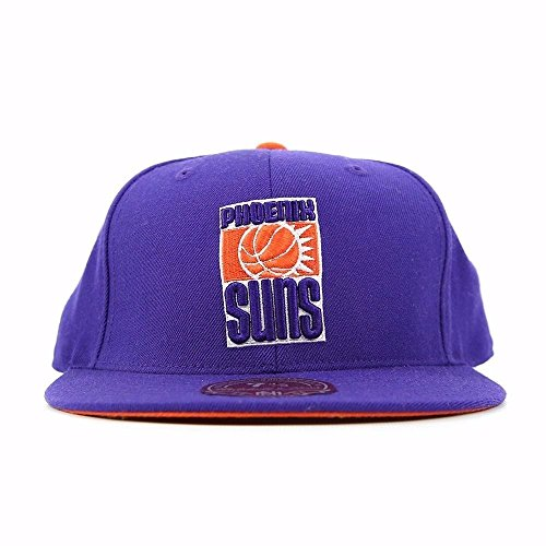 PHOENIX SUNS MITCHELL & NESS ALTERNATE LOGO (PURPLE) FITTED CAP HAT