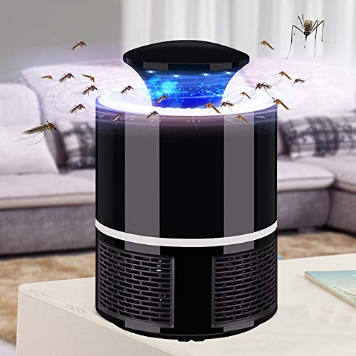 andeccanada Mosquito Killer USB Electric Mosquito Killer Lamp Photocatalysis Mute Home LED Bug Zapper Insect Trap Radiationless