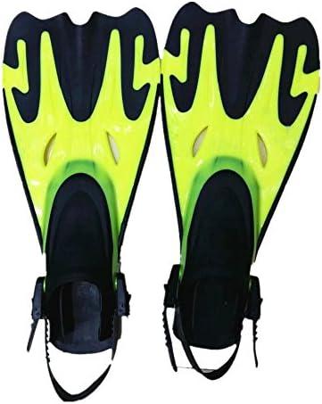 足ひれ 水泳シュノーケリング水生活動黄色のための水泳ダイビングフィン ダイビングフィン (Size : M L 41-44)