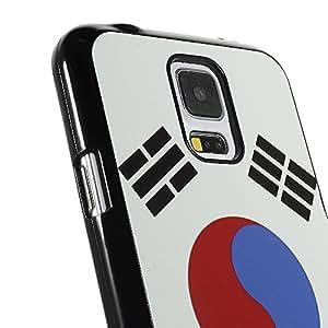 MaryJane MHC - S5 - 179d Carcasa de Aluminio para Samsung Galaxy S5 G900-South de bandera de Corea
