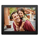 NIX Advance Digital Photo Frame 15 inch X15D. Electronic Photo Frame USB SD/SDHC. Clock and Calendar Function. Digital Picture Frame with Motion Sensor. Remote Control and 8GB USB Stick Included