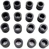 Brybelly Hard Rubber Bumpers for Standard Foosball Tables (Pack of 16)