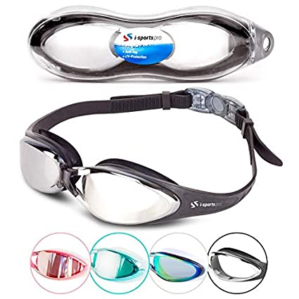 87e7dee1742 i-Sports Pro Swimming Goggles – Adult and Kids Sizes - No Leaking