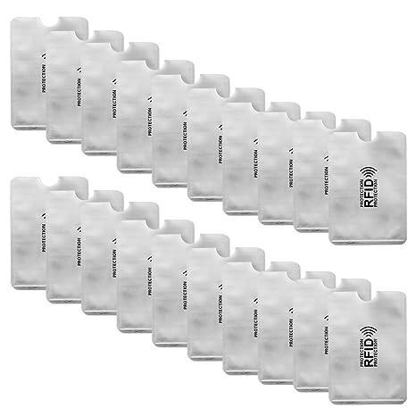 Amazon.com: Efanr RFID Fundas para tarjetas de bloqueo ...