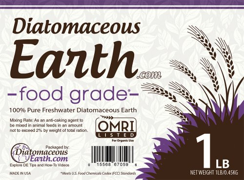 Pure Diatomaceous Earth 1 lb