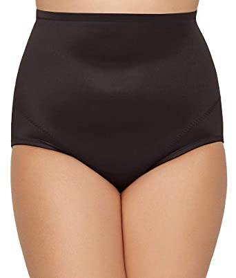 23f3d02d19b Miraclesuit Shapewear Women s Plus Size Extra Firm Control High-Waist Brief  at Amazon Women s Clothing store