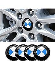 Hcar 56.5mm 4PCS Wheel Center Cover Sticker Emblem Badge Wheel Hub Caps Centre Cover