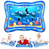 Joyjoz Tummy Time Baby Water Mat, Infant Toy Inflatable Play Mat, Fun Play Activity Center for Toddlers, Newborn, Boys, Girls, Stimulate Baby's Growth, Baby Toys Gifts for 3 6 9 12 Months
