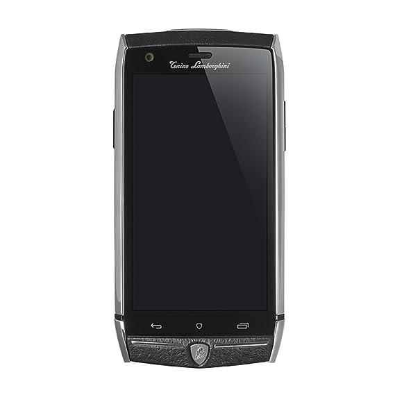 Tonino Lamborghini Mobile 88 Tauri (Steel U0026 Black) Unlocked 3G/4G Android  Smartphone