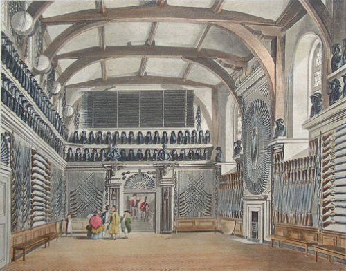The Guard Chamber, Round Tower, Windsor Castle