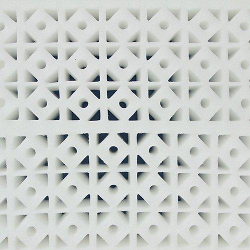 Protekt 600 42'' Bariatric Pressure Redistribution Foam Mattress (42'' x 76'' x 6'')