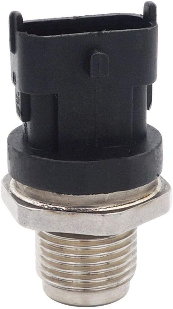 Loovey 0281006327 Genuine Fuel Rail Pressure Sensor Fits Dodge Cummins 6.7L 2007-2012