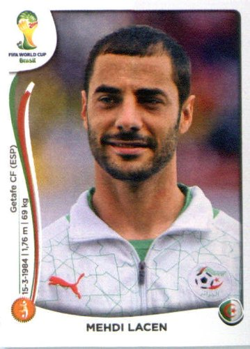2014 Panini World Cup Soccer Sticker #594 Mehdi Lacen Mint (594 Mint)