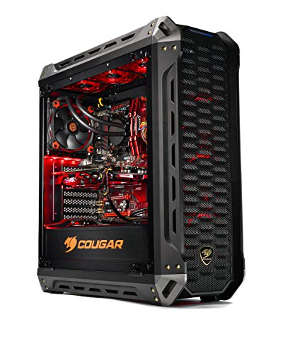 SkyTech Siege – Gaming Computer PC Desktop – RYZEN 5 1500X, 250GB SSD with 3D NAND, GTX 1050 Ti 4GB, 120mm Liquid Cool, 1TB HDD, 16GB DDR4, Windows 10 Home (Ryzen 5 1500X | GTX 1050 Ti)