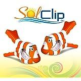 Beach Towel Clips, pegs, clothespins, épingles, pinces à serviette de plage, SolClip Canada, Tropical Fish
