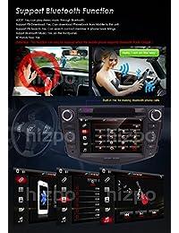 7 inch en Dash visualización táctil HD de coche reproductor de CD y DVD FM AM Radio RDS tarjeta de mapa de navegación GPS estéreo para Toyota RAV4 2006   2012