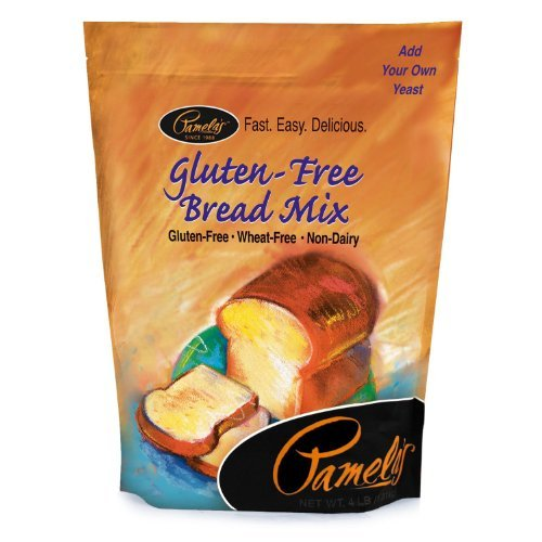Pamela's Products Amazing Wheat Free & Gluten-free Bread Mix, 4-Pound Bag