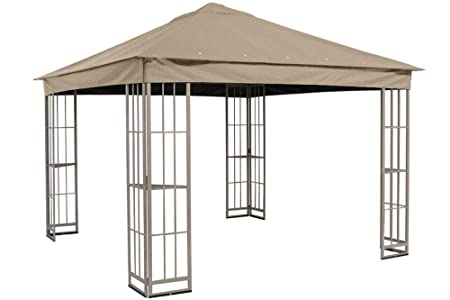 The Outdoor Patio Store Replacement Canopy for Garden Treasures 10 x10 Canopy for S-J-109DN in Taupe
