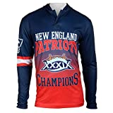 NFL New England Patriots Super Bowl XXXIX Champions Hoody Tee, X-Large