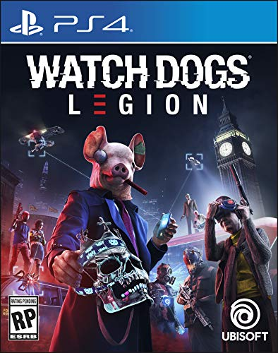 51vXhr9E%2B3L - Watch Dogs Legion - PlayStation 4 Standard Edition