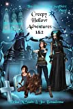 img - for Creepy Hollow Adventures: Three Ghosts in a Black Pumpkin and The Power of the Sapphire Wand book / textbook / text book