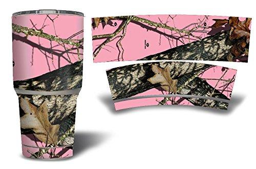 Premium-Graphic-Decal-Skin-for-YETI-30-oz-Rambler-Tumbler-Bottle-Cup-Wrap-Mossy-Oak-Breakeup-Pink-Camo
