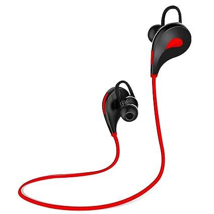 lzndeal Auriculares Bluetooth,Casco Bluetooth Deportivo con Micrófono Incorporado.Bluetooth de Versión 4.1,