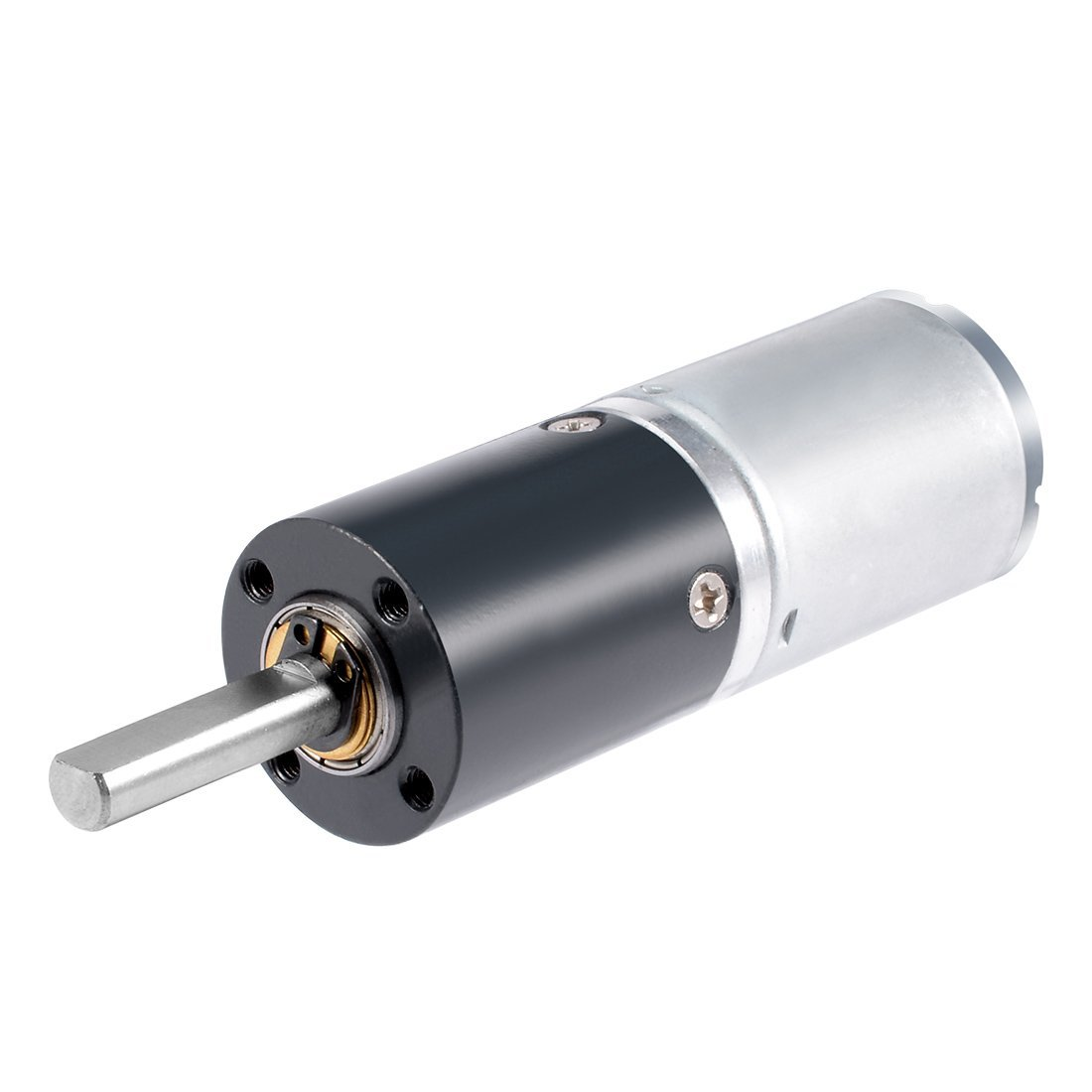 uxcell DC 24V 120RPM Low Noise Small Planetary Motor High Torque Speed Reduction Electric Gearmotor 24mm Diameter -ZGX24RP36i