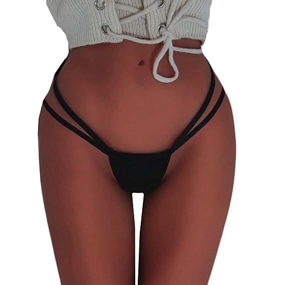 JYC Panties Sexy Lace Underwear, Ropa Interior Mujer Sexy Conjuntos, Mujer Sin Costura Vendaje Bragas Bragas Ropa Interior Lencería Knicker Cintas G-String: ...
