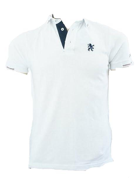 Lambretta - Camiseta - para Hombre Blanco Blanco Small: Amazon.es ...