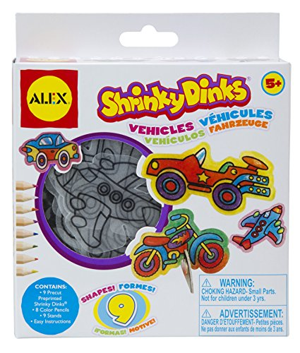 Shrinky Dinks Mini Vehicles -