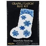 MCG Textiles Snowflake Stocking Latch Hook Kit