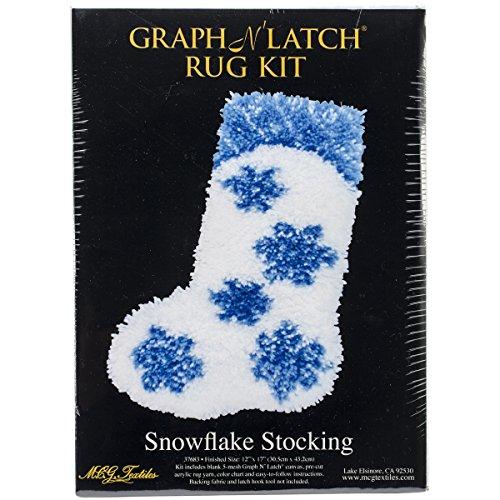MCG Textiles Snowflake Stocking Latch