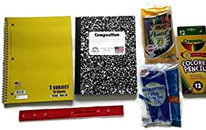 Back To School Supply Bundle para primaria A Través