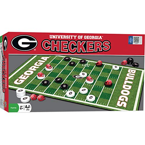 MasterPieces Collegiate Georgia Checkers ()