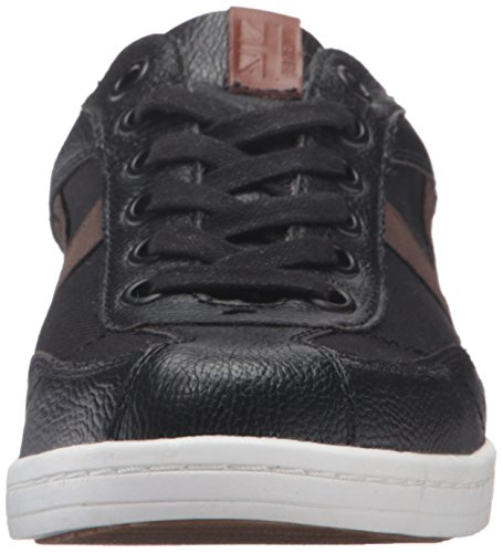 Ben Sherman Mens Lox T Punta Della Moda Sneaker Nero