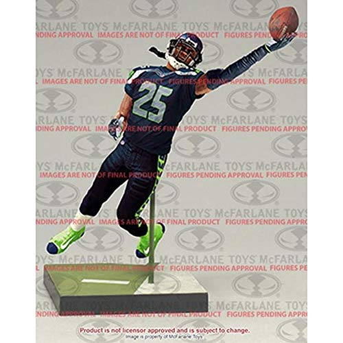 (McFarlane Toys NFL Series 36 Richard Sherman Seattle Seahawks Action Figure)