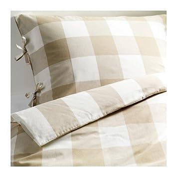 IKEA Bettwäsche Set U0026quot;Emmie Rutau0026quot; Bettgarnitur 240x220 Cm Und  Zweimal 80x80 Cm