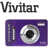 Compact Digital Camera 12 Megapixel Vivitar Vivicam T036 12MP (Purple)