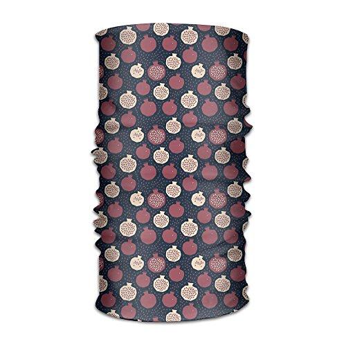 - Hong Yi Fang Red Pomegranate Unisex Bandanas Balaclava Cap Turban Headscarf Sweatband Headwear Headscarf