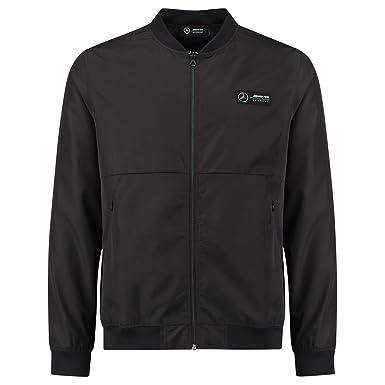 Mercedes Benz Jacket >> Amazon Com Mercedes Benz Amg Petronas Formula 1 Men S Black