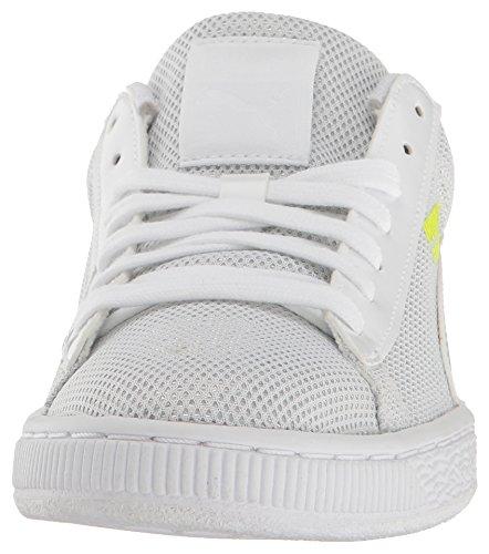 Puma Womens Basket Reset Wns Fashion Sneaker Puma White-puma White