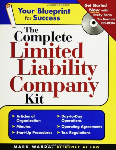 The Complete Limited Liability Company Kit (Complete . . . Kit)