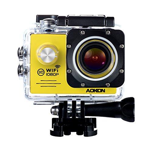 Aokon Action Camera SJ7000 Sports Waterproof 1080P 12M HD Helmet Motorcycle Underwater Cam