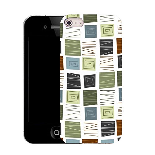 Mobile Case Mate IPhone 4 clip on Silicone Coque couverture case cover Pare-chocs + STYLET - reassuring pattern (SILICON)