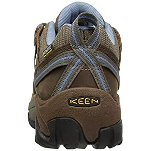KEEN Women's Targhee II Waterproof Hiking Shoe,Dark Earth/Allure,9.5 M US