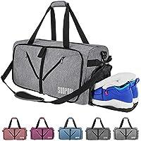 SUNPOW 65L Travel Duffle Bag, Foldable Sport Gym Bag with...