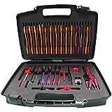 Reachs Total 70pcs Whole Set Multimeter Test Lead Kits Set Essential Automotive Electronic Connectors Cables Hand Tool Battery Tester & Auto Diagnostic Tools